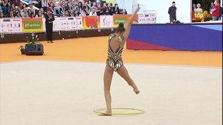 Дина Аверина - обруч (многоборье) (HD) // Чемпионат Европы 2018, Гвадалахара