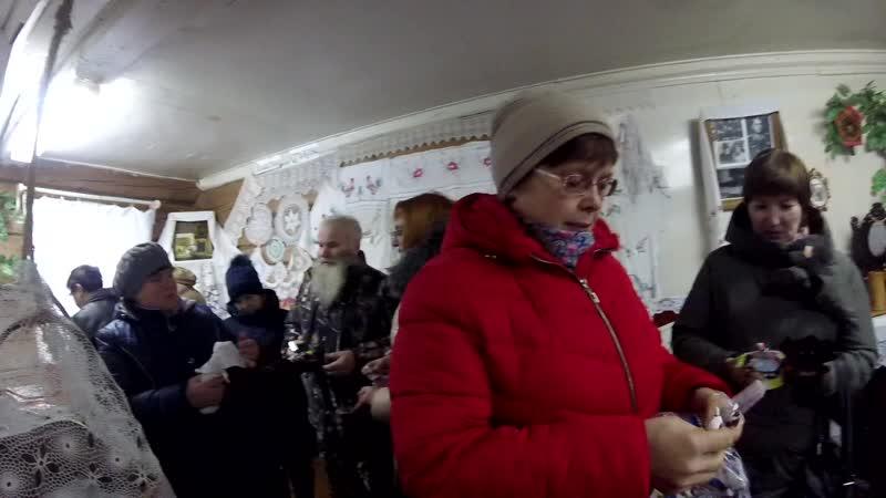 О зольных куклах рассказывает хранительница музея в Вахутках Татьяна Кирова.