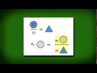 Относительная атомная масса химических элементов | урок 16, химия 8 класс