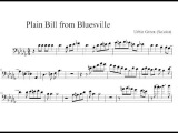 Urbie Green Trombone Solo Transcription Plain Bill from Bluesville