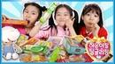 처음 보는 과자 먹방하면서 깨알수다 ☆ Mukbang ☆ 팅글리와 나하은과 함께 하은51060