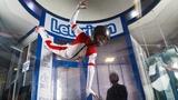 На соревнованиях по полетам в аэротрубе Wind Games победила 14 летняя девочка