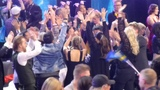 Bad moment for Sergey Lazarev who jumped, Victory of Ukraine (Eurovision 2016)