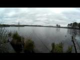 Вот что происходит когда пожелали удачи на рыбалке)))