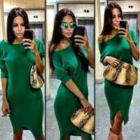 Платье мира сезар зеленое