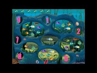 Лунтик - Подземное озеро. Обучающее видео для детей.