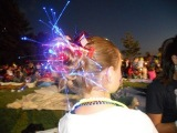 Messy Glow Bun | 4th of July | Cute Girls Hairstyles