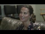 Алисия в студии «Crystal Dynamics» | 2018 год