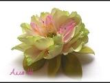 МК Цветы из фоамирана. Простой способ создания красивого украшения