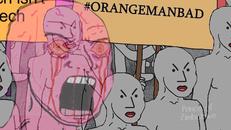 Orange Man Bad!