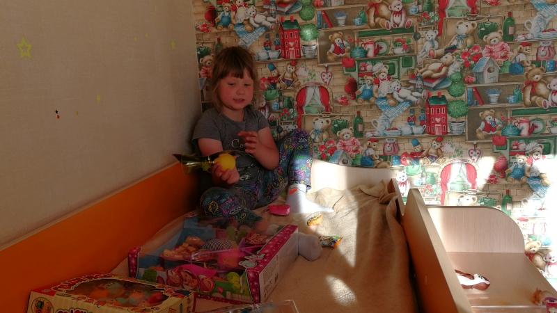 17-06-2018 Настя и подарочки после каникул