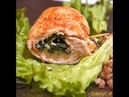 Рецепт куриного рулета с брынзой и шпинатом Курица начиненная сыром и зеленью