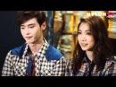 Lee Jong-seok and Park Shin-hye in fall fashion