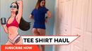 I want to give you the shirt off my back Tee shirt try on, haul, and GIVEAWAY!
