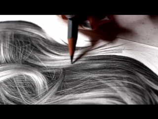 Drawing Photorealistic Hair With Graphite (Missy Sue) by Heather Rooney