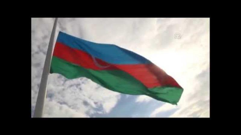 Anadolu Ajansı - Azerbaycan'da bayrak töreni