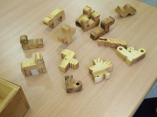 Выставка головоломок