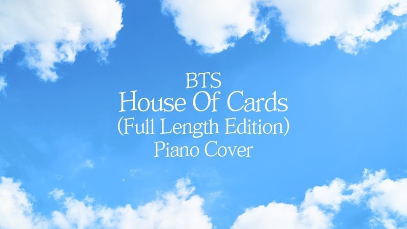 [커버] 방탄소년단 (BTS) - House of cards (Full Length Edition) | 가사 lyrics | 신기원 피아노 연주곡 Piano Cover