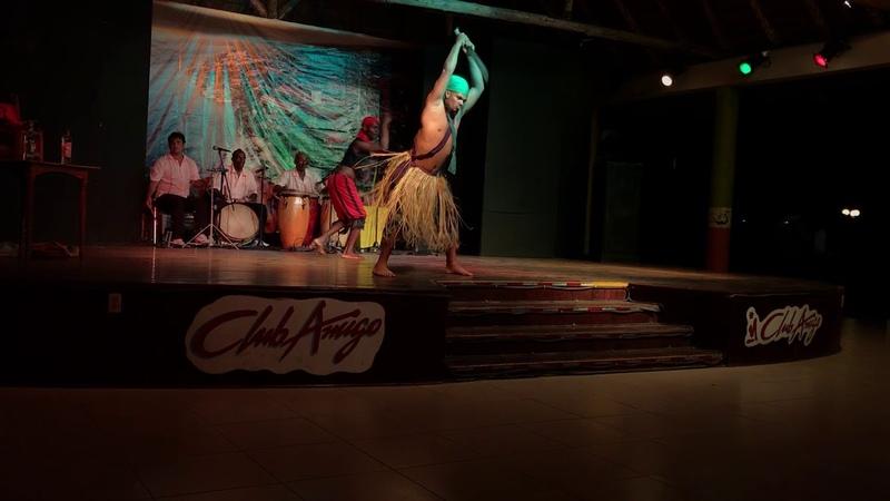 Theater, animation in Club amigo atlantico guardalavaka. History of Cuba