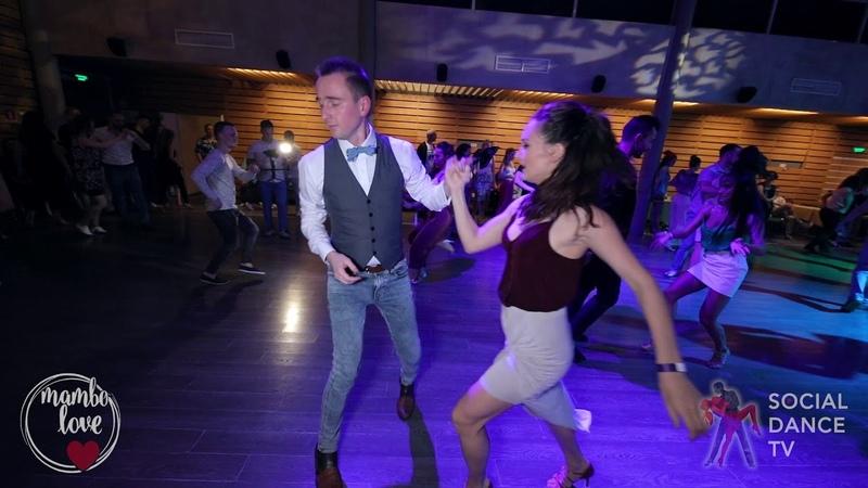Anton Shcherbak Natasha Chumakova - Salsa social dancing   Mambo.love 2018