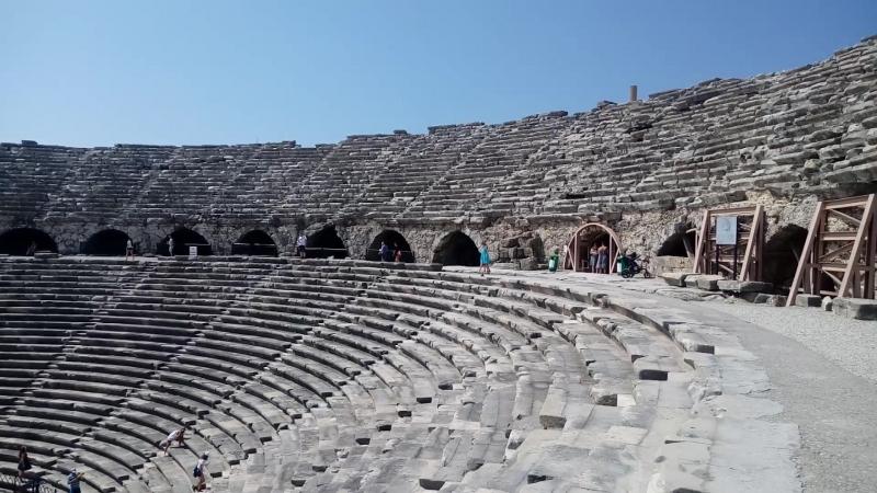 Сиде, античный театр
