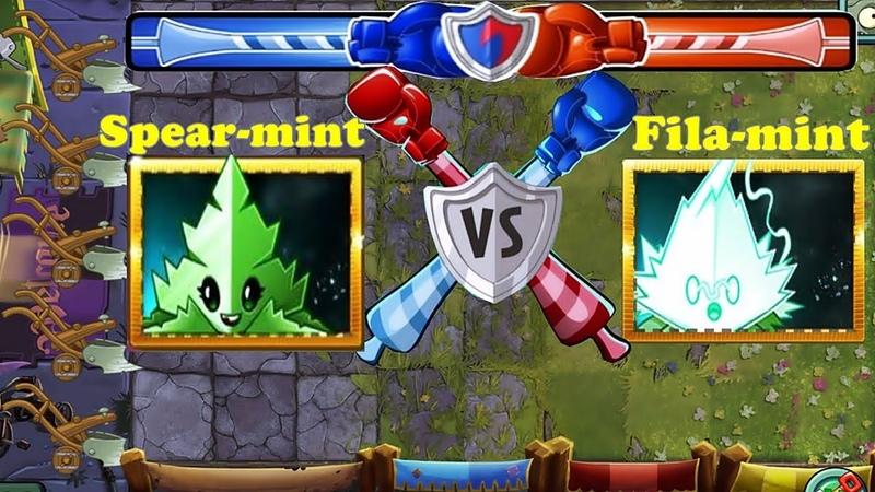 Plants vs Zombies 2 Team Fila-mint Pvz 2 Vs Team Spear-mint Pvz 2 Gameplay 2018