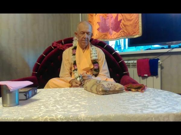BVV Narasimha Swami, BG 9.11 Blagoveshchensk, 01.08.2018 (Eng-Rus)