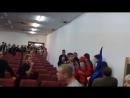 Испанские студенты дали отпор Украинским неонацистам в Мадриде 09 10 2014