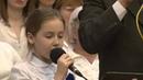 пение Радостно пойте, Христос рожден! ц.Голгофа г.Алматы