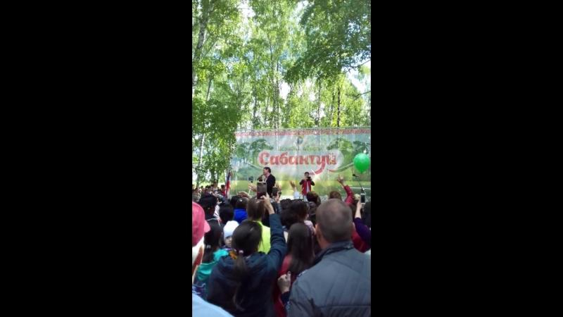 Анвар Нургалиев-11 июня 2018 год, сабантуй в Исанбаево