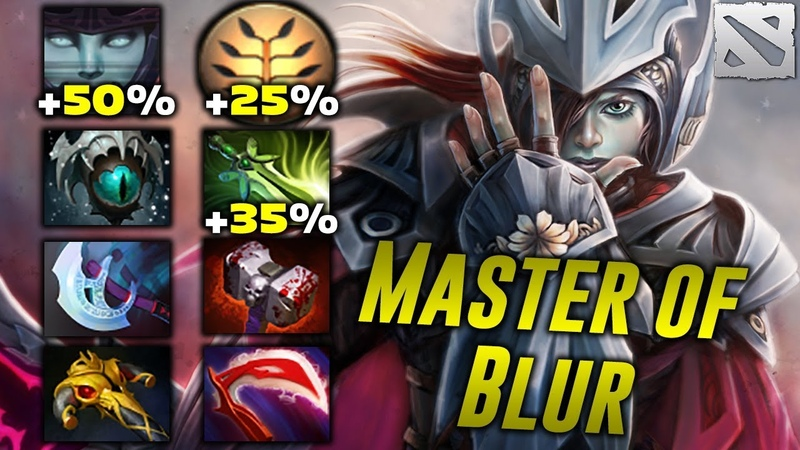 Agressif Phantom MASTER OF BLUR Dota 2