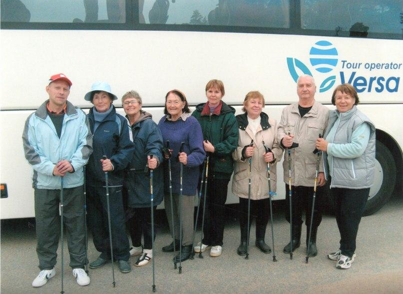 Участие в осеннем соревновании по ориентированию и скандинавской ходьбе к «Дню пожилого человека»