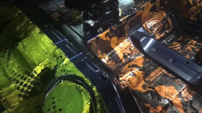 Audi A4 B8 полная шумоизоляция