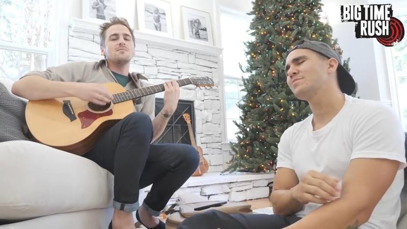 Kendall Schmitt and Carlos PenaVega - Beautiful Christmas. (Mini Big Time Rush)