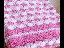 Sabana para bebe tejidos a crochet