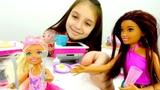 Мультик с Барби - Скипер гуляет с Челси - Видео для девочек