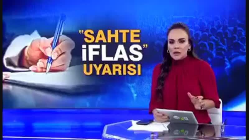 Konkordato hakkındaki röportajımız dün akşam Kanal D Anahabere yayınlandı