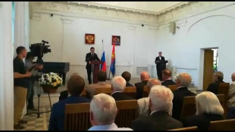 Станислав Воскресенский: От нас всех зависит, каким будет новое столетие Ивановской области, которое начинается сегодня