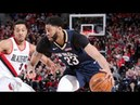 New Orleans Pelicans vs Portland Trail Blazers - Full Game Highlights | Game 2 | April 17, 2018