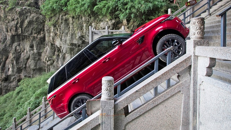 Range Rover Sport 2018 Dragon Challenge EXTREME CLIMB