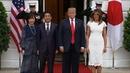President Trump and Melania host couples dinner
