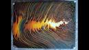 (200)pouring 4 colors 30x40cm