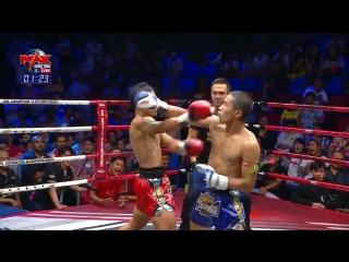 4 Man Tournament: дикий второй раунд финального боя. Max Muay Thai.