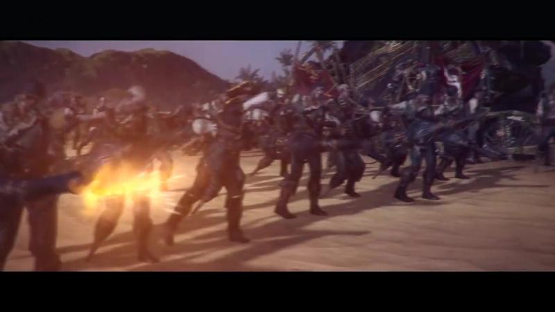 Трейлер обновления Curse of the Vampire Coast для игры Total War WARHAMMER II!