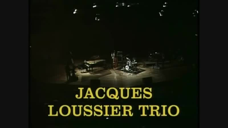 Jacques Loussier Trio - Play Bach (1989)