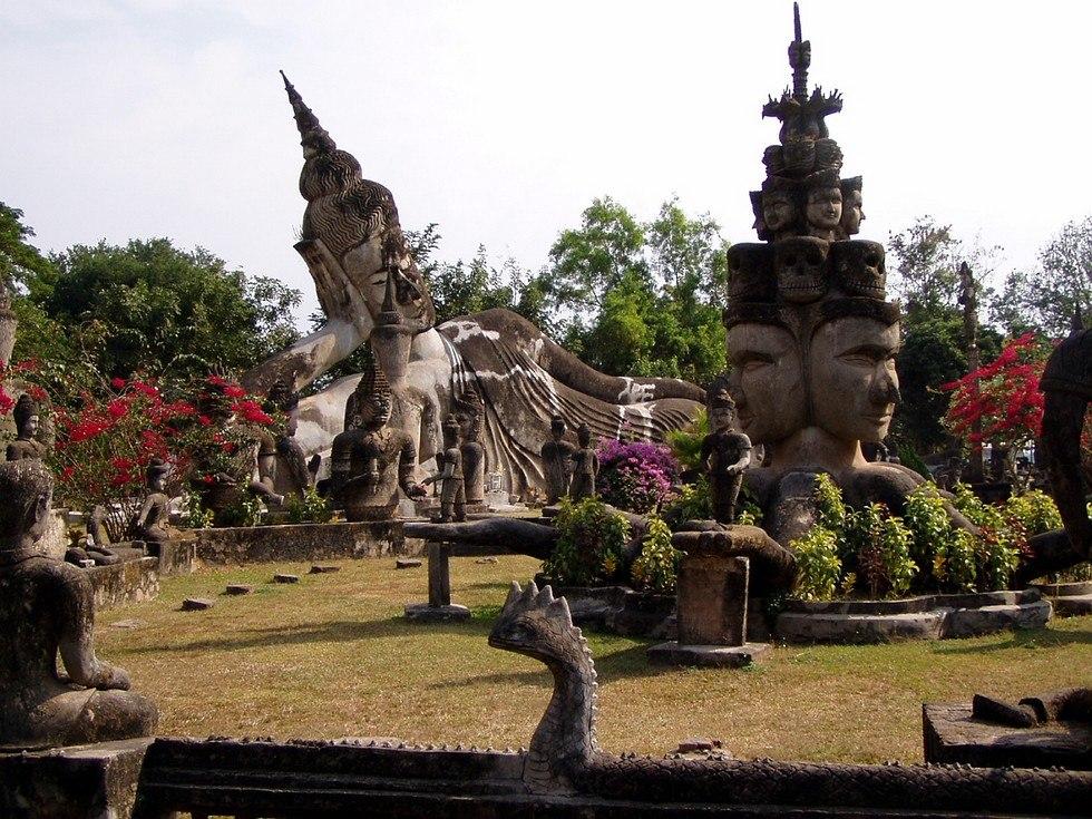 Парк Сала Кеоку. Тайланд 9ScVYaF69S4