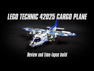 Lego Technic 42025 Cargo Plane Review