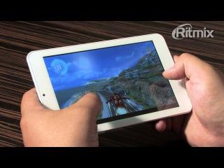 Короткий обзор планшета от Лаборотории ritmix