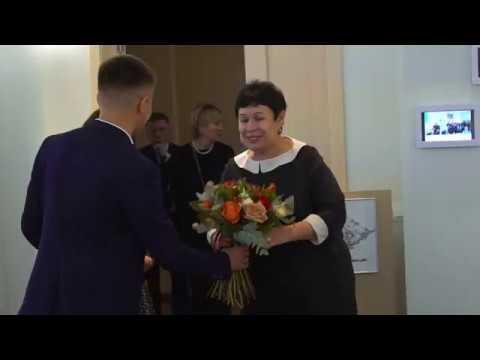 Вручение грантов Фонда имени Мустая Карима в Башкирском государственном университете (20.10.18)