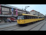 Tatra & Cargo Tram in Dresden